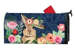 Bunny Bliss MailWraps Mailbox Cover