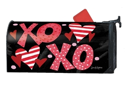 Hugs and Kisses MailWraps Mailbox Cover