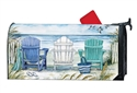 Ocean View MailWraps Mailbox Cover