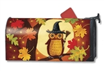 Halloween Owl MailWraps Magnetic Mailbox Cover Jennifer Brinley