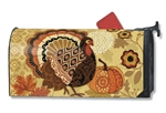 Turkey Time MailWraps Magnetic Mailbox Cover Jennifer Brinley
