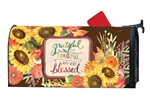 Grateful Bouquet MailWraps Mailbox Cover