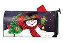 Frosty Friends MailWraps Mailbox Cover