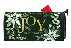 Poinsettia Joy MailWraps Mailbox Cover