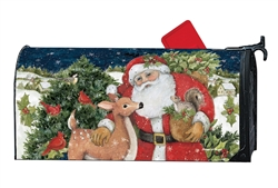 Christmas Magic MailWraps Mailbox Cover