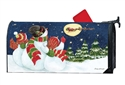 Santa Trackers MailWraps Mailbox Cover