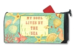 Soul by the Sea MailWraps Magnetic Mailbox Cover