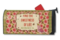 Sweetness of Life MailWraps Magnetic Mailbox Cover