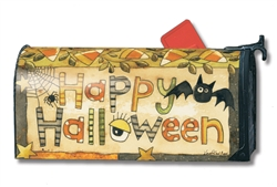 Spooky Halloween MailWraps Magnetic Mailbox Cover