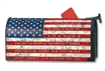 Pledge of Allegiance MailWrap Magnetic Mailbox Cover