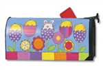 Easter Garden MailWraps Magnetic Mailbox Cover