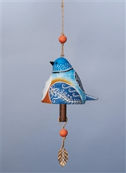 Bird Song Ceramic Bell - Bluebird