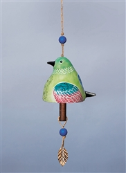 Bird Song Ceramic Bell - Hummingbird