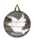 Bringing Peace PVC Door Decor