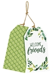 Welcome Friends Door Decor