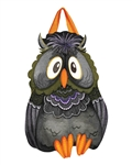 Moonlight Owl PVC Door Decor