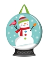Snow Globe PVC Door Decor