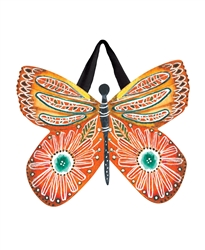 Butterfly Blossoms PVC Door Decor