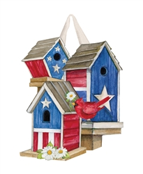 All American Birdhouses PVC Door Decor