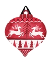 Nordic Deer PVC Door Decor