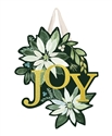 Poinsettia Joy PVC Door Decor