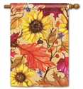 Sunflower Splendor BreezeArt Standard House Flag