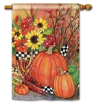 Ready for Fall BreezeArt Standard House Flag