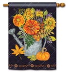 Autumn Pleasures BreezeArt Standard House Flag