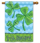Irish Blessings BreezeArt Standard House Flag