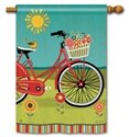 Summer Ride BreezeArt Standard House Flag