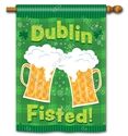 Dublin Fisted BreezeArt Standard House Flag