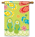 Hello Summer BreezeArt Standard House Flag
