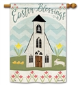 Easter Service BreezeArt Standard House Flag