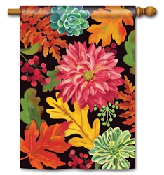 Vibrant Autumn Mix BreezeArt Standard House Flag