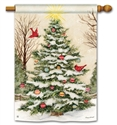 Decorate The Tree BreezeArt Standard House Flag
