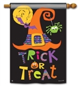 Witches Halloween BreezeArt Standard House Flag