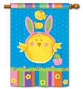 Easter Chicks BreezeArt Standard House Flag