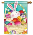 Easter Basket BreezeArt Standard House Flag