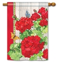 Ladies in Red BreezeArt Standard House Flag