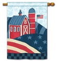 American Barn BreezeArt Standard House Flag