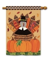 Pilgrim Turkey BreezeArt Standard House Flag