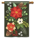 Boho Christmas BreezeArt Standard House Flag
