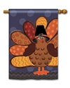 Tom Turkey BreezeArt Standard House Flag