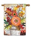 Fall Snippets BreezeArt Standard House Flag