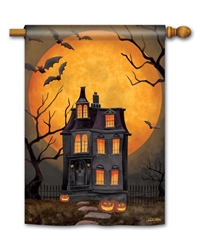 Dark Manor BreezeArt Standard House Flag