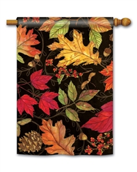 Autumn Symphony BreezeArt Standard House Flag