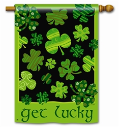 Get Lucky Decorative Standard House Flag