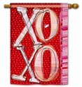 XOXO Decorative Standard House Flag