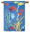 Underwater World Decorative Standard House Flag