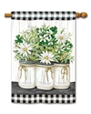 Farmhouse Daisies BreezeArt Standard House Flag